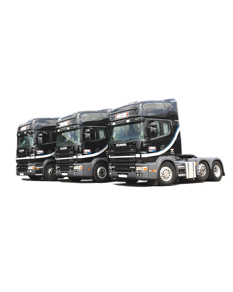 We operate as a successful haulage contractor for many high profile customers