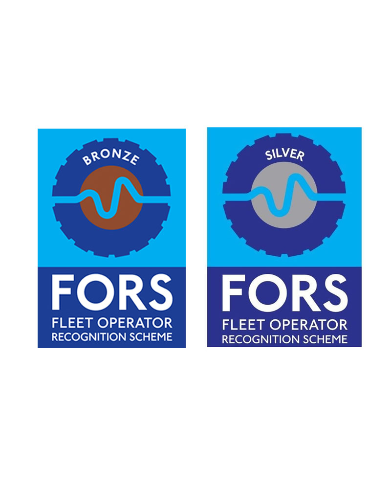 RGF Logistics Ltd is a FORS assured and accredited company to both bronze and silver standard